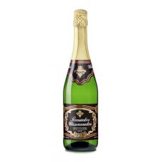 Российское Шампанское белое полусладкое  Игристые вина 0.75л