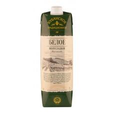 Вино Кубанское Традиционное  белое  полусладкое  1л.
