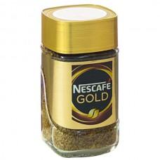 Кофе Нескафе Голд, растворимый 47.5г.