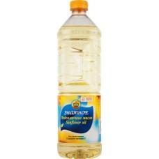 Масло Подсолнечное Знатное, рафинированное ГОСТ 0.9л.