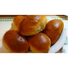 Пирожок печеный с вишневой начинкой 75г. Кингисеппский Хлебокомбинат.