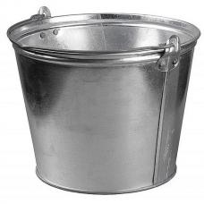 Ведро 12л, оцинкованное для воды