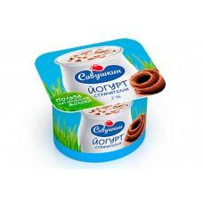 Йогурт Савушкин 2% СТРАЧАТЕЛЛА 120г.