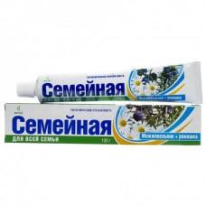 """Зубная паста """"Весна Семейная"""" можжевельник + ромашка, 100г"""