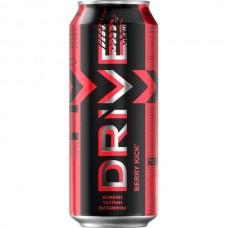 Энергетический напиток безалкогольный DriveMe ягоды 500мл.