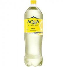 Вода Аква Минерале Лимон негазированная 1.5л.