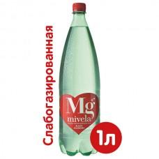 Вода минеральная природная Mivela Mg++, 1л.