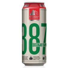 Пиво 387  ж.б. 0.5л.