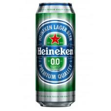 Пиво Хайнекен безалкогольное  ж.б. 0.5л.
