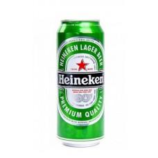 Пиво Хайнекен светлое ж.б. 0.45л.