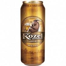 Пиво Козел светлое ж.б. 0.45л.