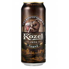Пиво Козел темное  ж.б. 0.5л.