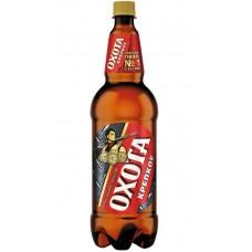 Пиво Охота крепкое 1.35л. пэт