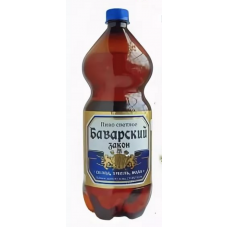 Пиво Баварский Закон ПЭТ, 1,35л.