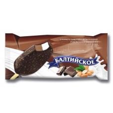 Эскимо Балтийское двухслойное в шоколадной глазури 80г.