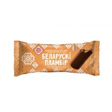 Эскимо Белорусский пломбир крем-брюле в шоколадной глазури 80г.