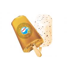 Эскимо Золотая бомба ванильное с шоколадной крошкой в фольге 80г.