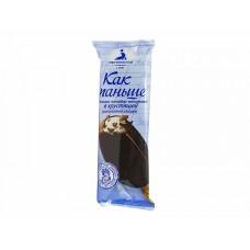 Эскимо Как Раньше ГОСТ мороженое пломбир ванильное в шоколадной глазури 80г.