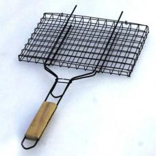 Решетка для барбекю универсальная, средняя 360х260х18mm