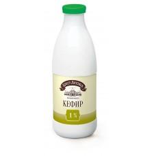 Кефир Брест-Литовский 1% бутылка 950г.