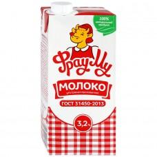 Молоко Фрау Му 3.2% ГОСТ 0.95л ультрапаст.