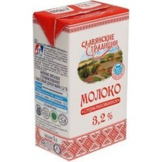 Молоко Славянские Традиции 3.2% ультрапаст.1л