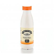 Ряженка Брест-Литовская 4% бутылка 415г.