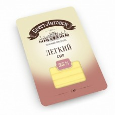 Сыр Брест-Литовский Легкий 35% нарезка 150г