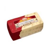 Сыр Сырная долина Российский 50% весовой