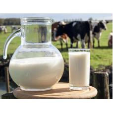 Молоко коровье, разливное, 1л